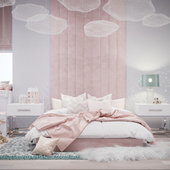 GIRL'S BEDROOM: CHILD MOOD