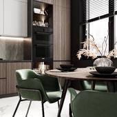 Кухонная зона/Kitchen Zone