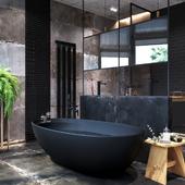 Bathroom by loft style