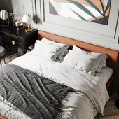 Спальная комната в неоклассическом стиле