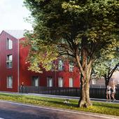 3D визуализация жилого комплекса в Таллине