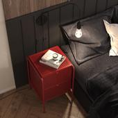 Red&Black Badroom