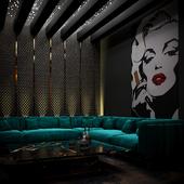 modern strip club