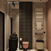 Гостевой туалет и прачечная
