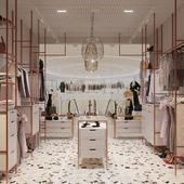 Бутик женской одежды / Women's clothing boutique