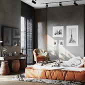 Помещения проекта дома единой стилистике