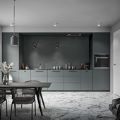 Darken minimal kitchen