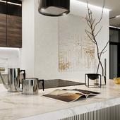 кухня гостиная в доме 400 м2