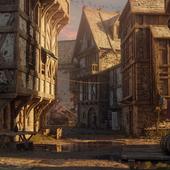 Средневековая улица