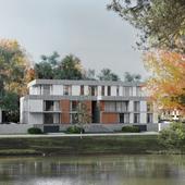Многоквартирный дом в Чехии