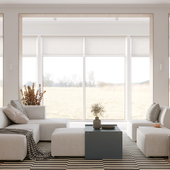 Residential interior 102 m²