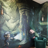 Сказочный коридор.