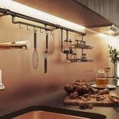 Кухня в Московской квартире