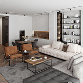 Loft interior visualisation