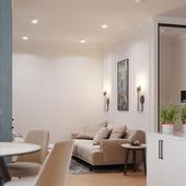 Small apartment in Kharkiv
