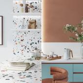 Дизайн кухни с панорамным остеклением