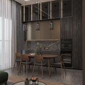 Modern apartment on Arbat, I / Квартира на Арбате