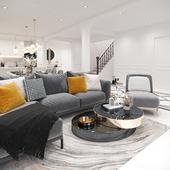 Living area Praram 3 Project