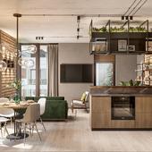 Apartament in the Kiev