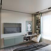 Bedroom for men