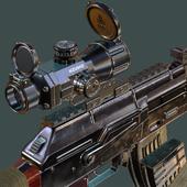AK 47 Dual Laser Sight with IR Illuminator