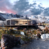 House in Scandinavia