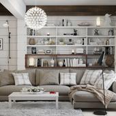 White_wood house