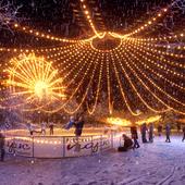Центральный каток г.Видное (Central ice rink in Vidnoe)