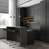 Kitchen-living room visualisation