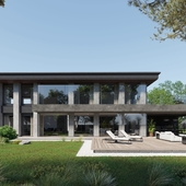 Эскизный проект загородного дома