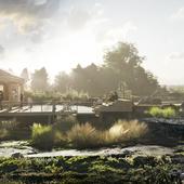 Комплексный проект благоустройства набережной реки Авача в г.Елизово, Камчатский край. Авторы проекта - архитектурное бюро «Дружба»