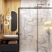 Marble_wood restroom