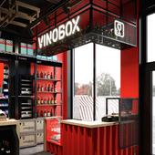Дизайн винного магазина VINOBOX