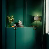 Emerald room (сделано по референсу)