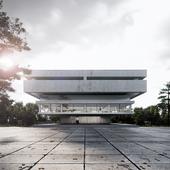 Central Library in Berlin (сделано по референсу)