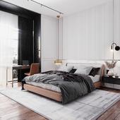 bedroom, 22m2