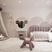 children's room for a little princess