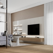 living room in privat house