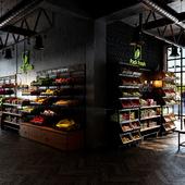 Pack Fresh Fruit & vegetable store