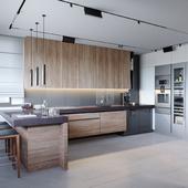 Кухня. Квартира в Митино.
