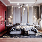Modern style in the bedroom