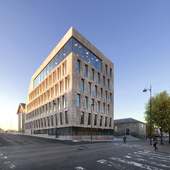 Bodø Town Hall (Archdaily) (сделано по референсу)
