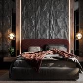 """Проект спальни для квартиры в ЖК """"Испанские кварталы"""""""