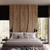 Спальня со слэбами