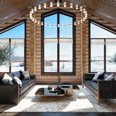 Log house design