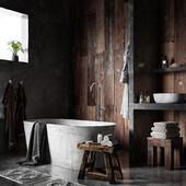Ванная (выполнено по референсу)