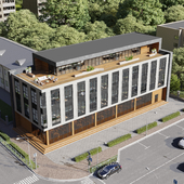 Проект офисного здания в Симферополе