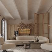 Расслабьтесь и наслаждайтесь минималистской гостиной
