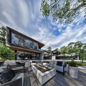"House in the suburban village ""Agalarov Estate"""