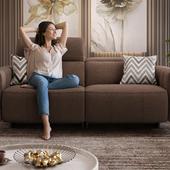 Mix of sofas